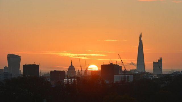 世界金融中心之一的伦敦