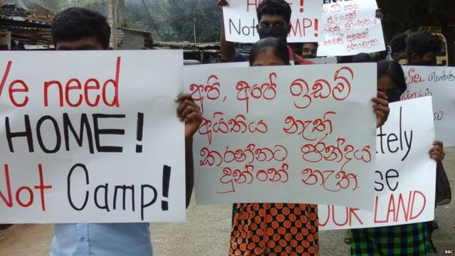 Protest in Omanthai