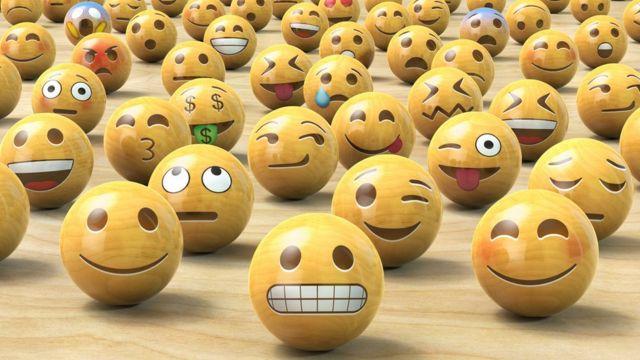 Different emojis