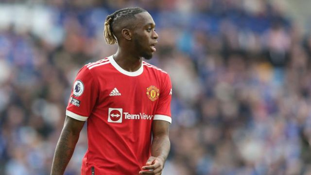 Manchester United's Aaron Wan-Bissaka returns from suspension after his Uefa ban was halved to one game.