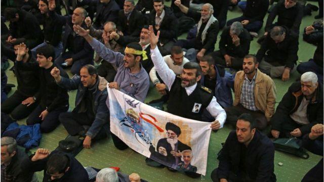 Молитва в Тегеране