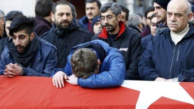 جنازة الصحايا