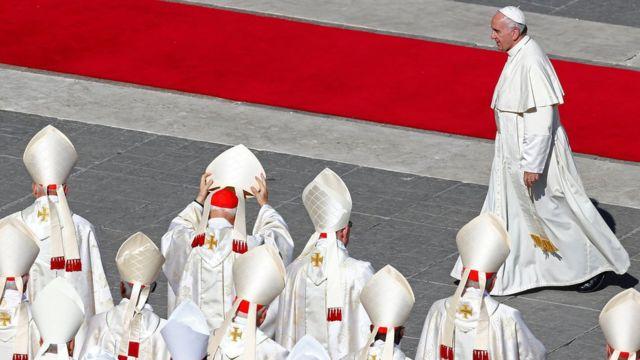 Papa Francisco, no Vaticano: Canonização não exigiu que os mártires tivesssem realizado milagres