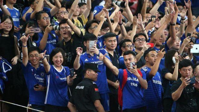 北京的切尔西球迷