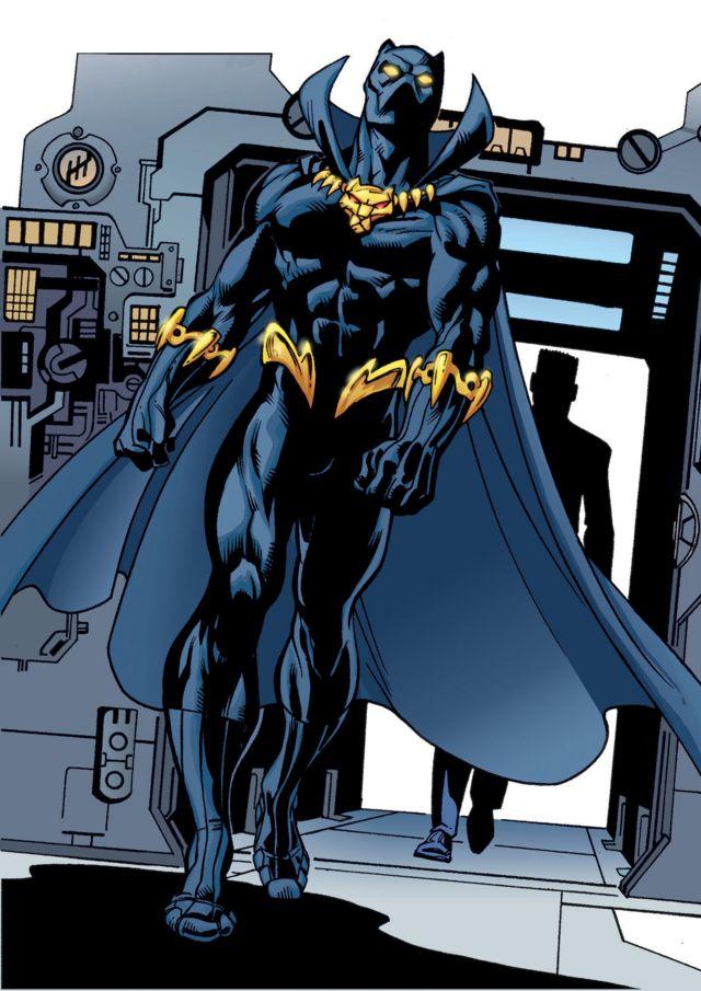 Crni panter u stripu