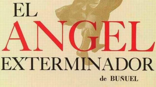 """Afiche de la película """"El ángel exterminador"""""""