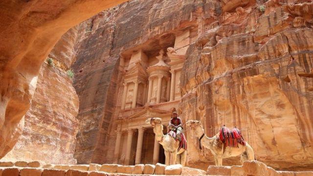 Antigua ciudad de Petra