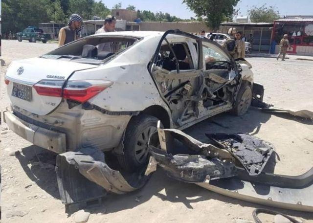 دو کارمند کمیسیون حقوق بشر افغانستان در انفجار بمب مغناطیسی در کابل کشته شدند
