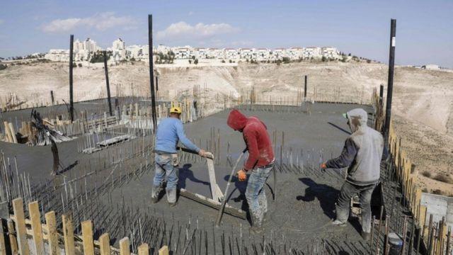 بناء مستوطنات في القدس الشرقية