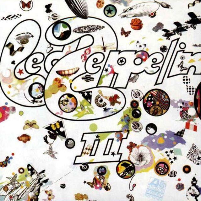 Обложка Led Zeppelin III