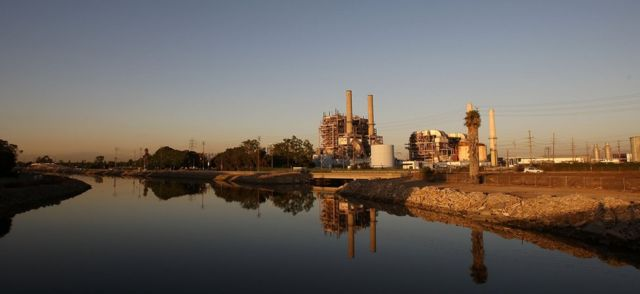 Power station in Long Beach