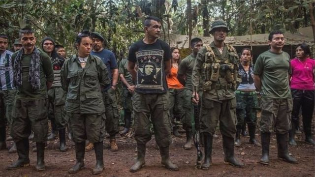 Mu maseerano bagiriraniye na reta, FARC uzoca ucika umugambwe