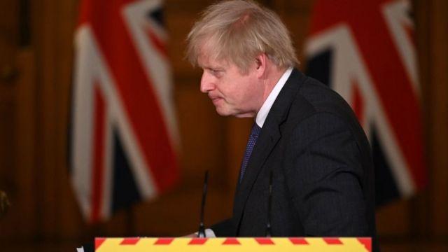 رئيس الحكومة البريطاني بوريس جونسون