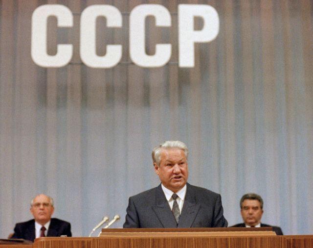 Горбачев, Ельцин