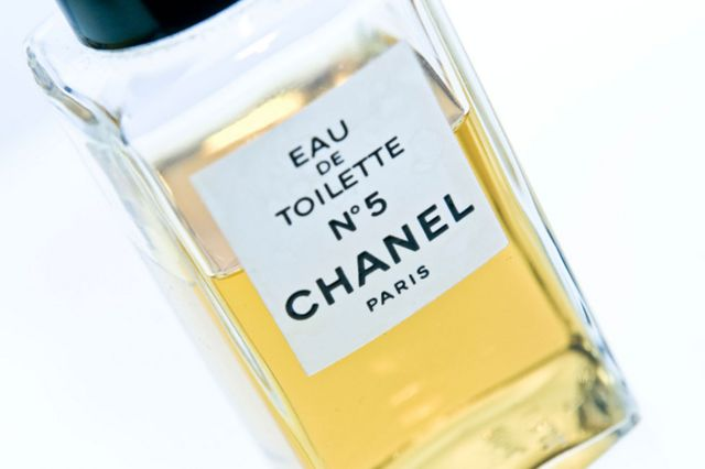 A bottle of Chanel No5