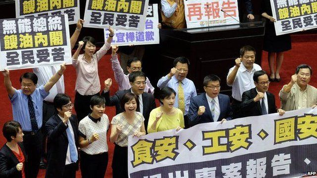 台灣政府因忽視食品安全不斷受到批評。(資料圖片)