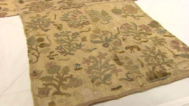The altar cloth