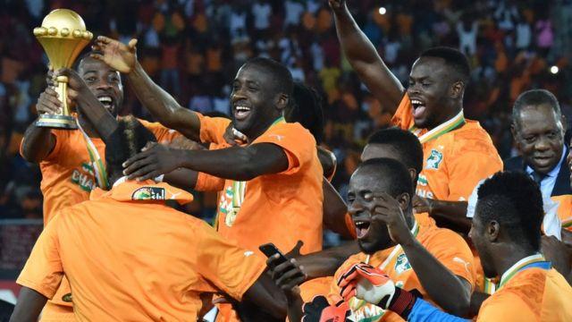Ivory Coast trophy
