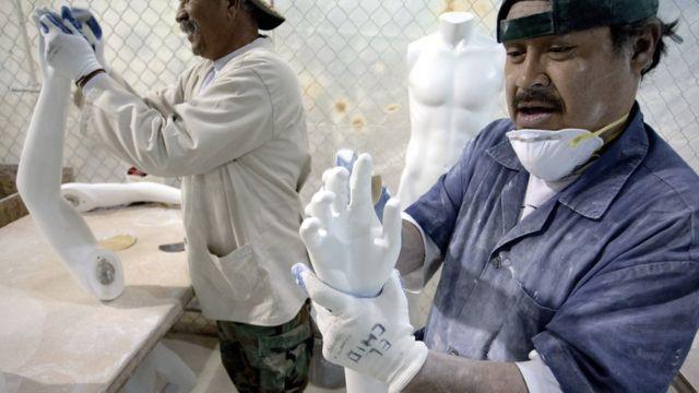 Trabajadores mexicanos