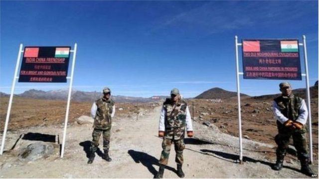 چین انڈیا سرحد