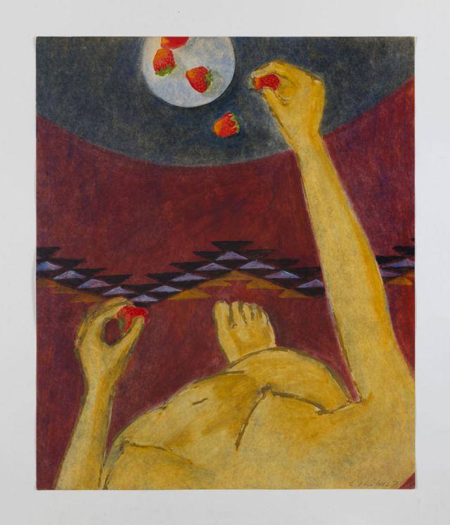 Luchita Hurtado, Sin titulo, 1971, Hauser & Wirth Collection, Switzerland, © Luchita Hurtado. Cortesía de la artista y Hauser & Wirth, Foto: Jeff McLane