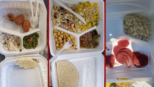 سه نمونه از غذاهای اردوگاه فورت پیکت