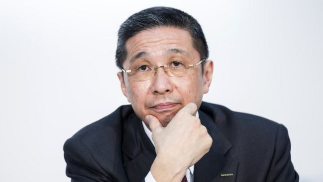 Nissan CEO Hiroto Saikawa was ousted in 2019 - after admitting to being unduly overpaid.
