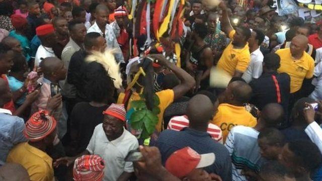 Mmọnwụ Okwo mma na Coal Camp Enugwu