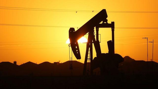 Extracción de petróleo en Texas