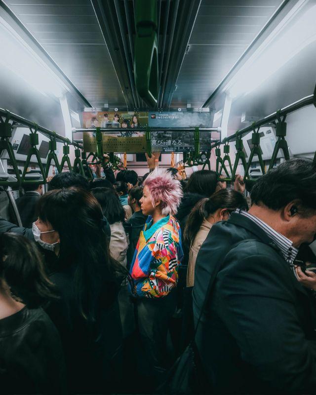 Путници у возу