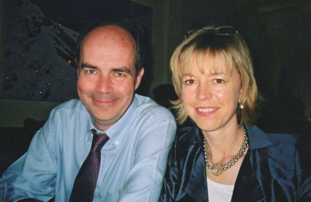 Nick Clarke e Barbara Want