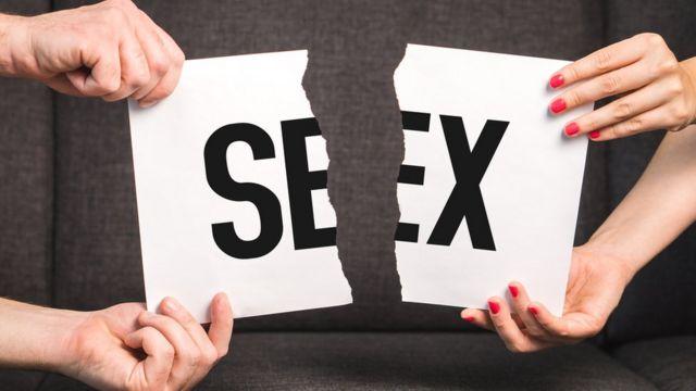 Cartel con la palabra sexo.