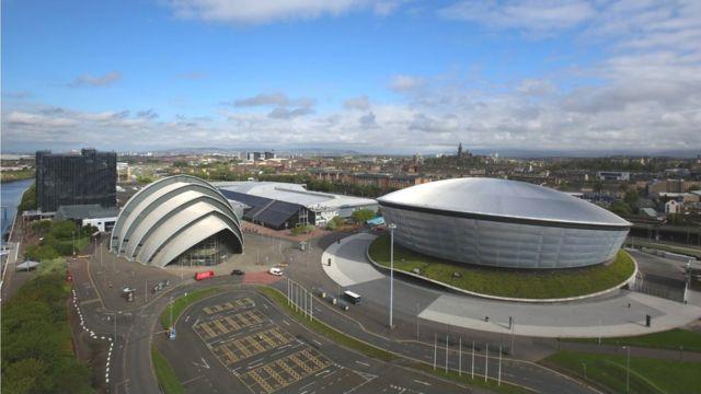 Scottish Events Campus en Glasgow