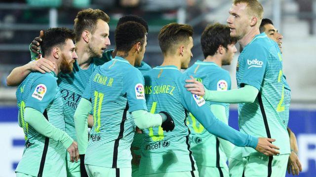 Gasar cin kofin La Liga Spaniya