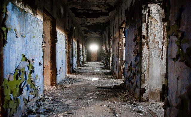 Unutrašnjost starog zatvora