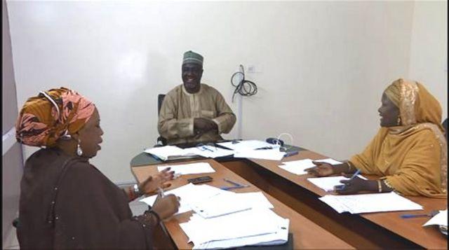 Daga dama: Dokta Halima Abdulkadir Dangambo, da Farfesa Ibrahim Malumfashi, da kuma Bilkisu Yusuf Ali