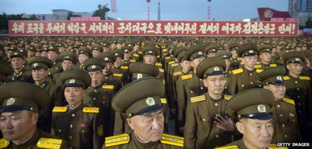 उत्तर कोरियाली सैनिक