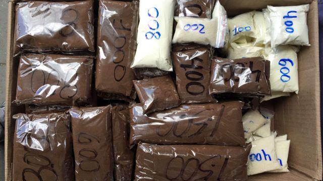 Venta de café, leche en polvo y azúcar en Caracas
