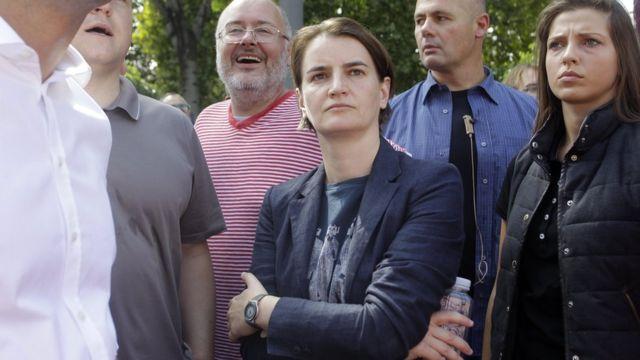 """Прем'єрка Брнабич заявила, що """"Сербія поважає різноманіття"""""""
