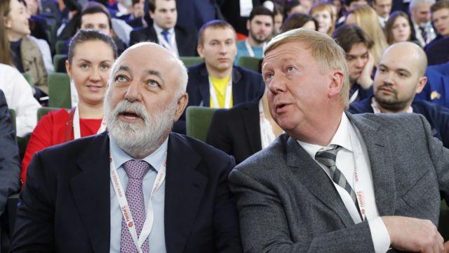 Виктор Вексельберг и Анатолий Чубайс
