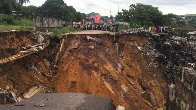 deslizamiento de tierra en áfrica