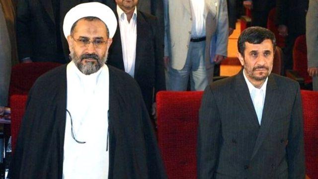 احمدی نژاد و مصلحی