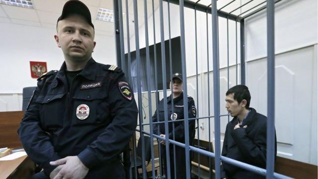 Аброр Азімов у суді