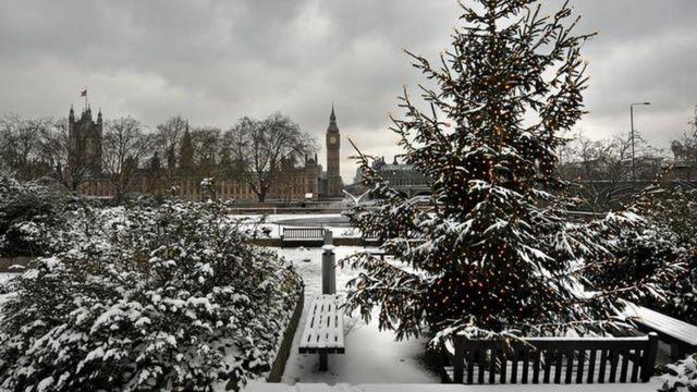 Рождественская елка в Лондоне (2010 г.)