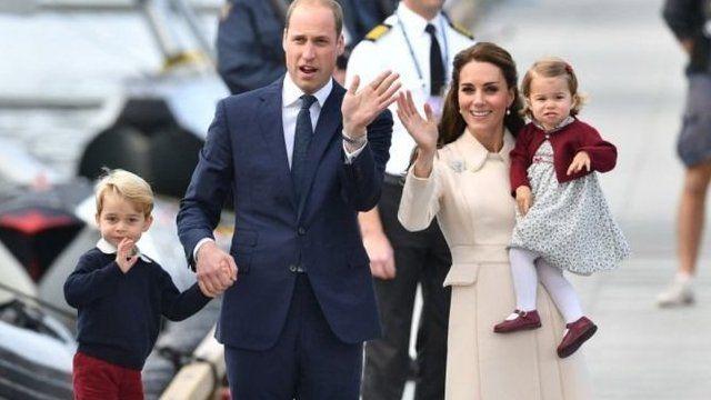 剑桥夫妇和家人