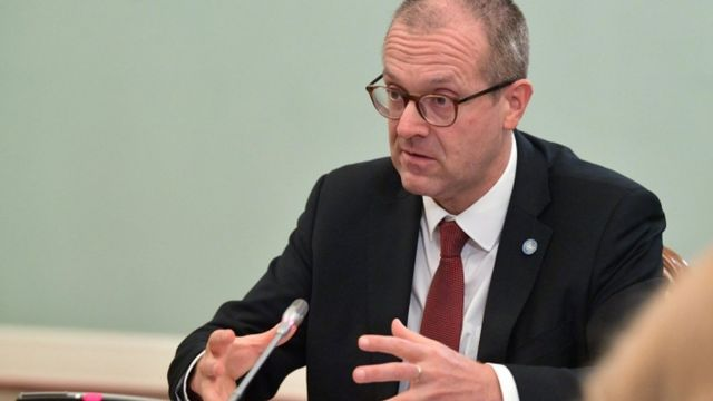 Hans Kluge, the WHO's Europe director