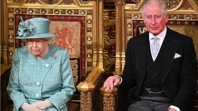 女王和查爾斯王子