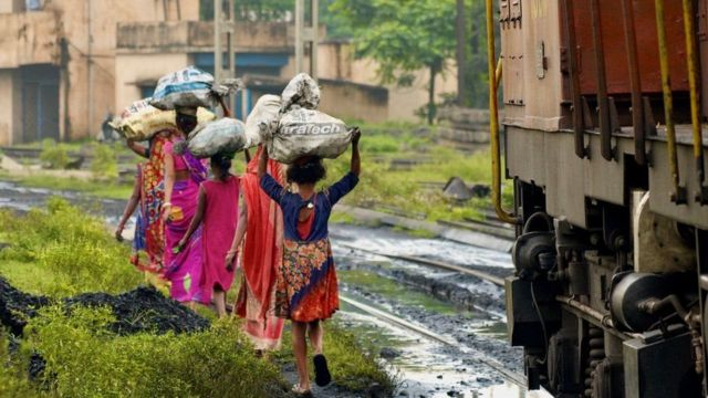 India's coal industry employs 40 lakh people (Photo-AFP)