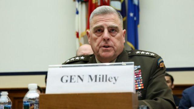 Tướng Mark Milley, Chủ tịch Hội đồng tham mưu trưởng liên quân Mỹ