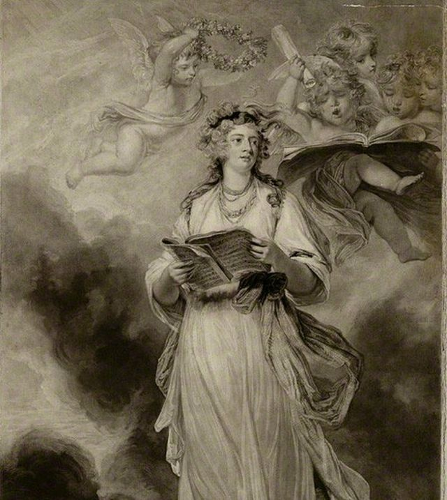 Retrato de Elizabeth Billington por Sir Joshua Reynolds